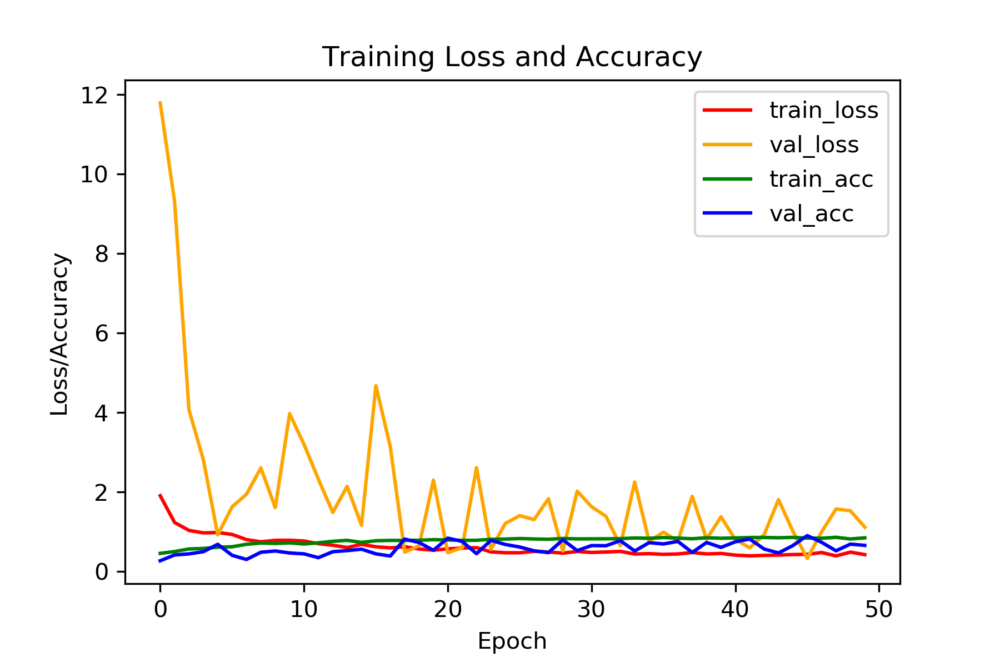 Loss Vs Epoch Graph